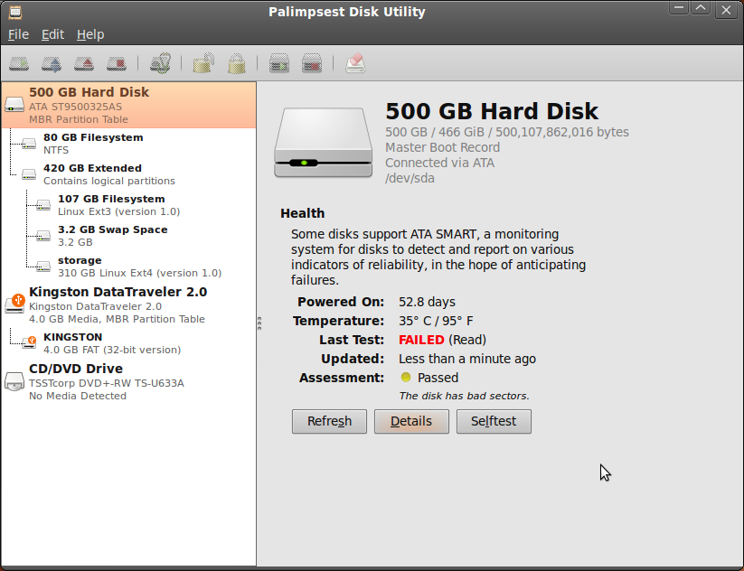 Palimpsest Disk Utility