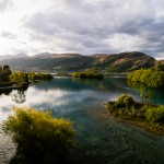 Lake Wakatipu, a picturesque lake which houses Queenstown on one of its shores
