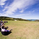Lounging on Waiheke Island