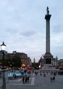 Trafalgar Square, as seen by the Z3 Compact