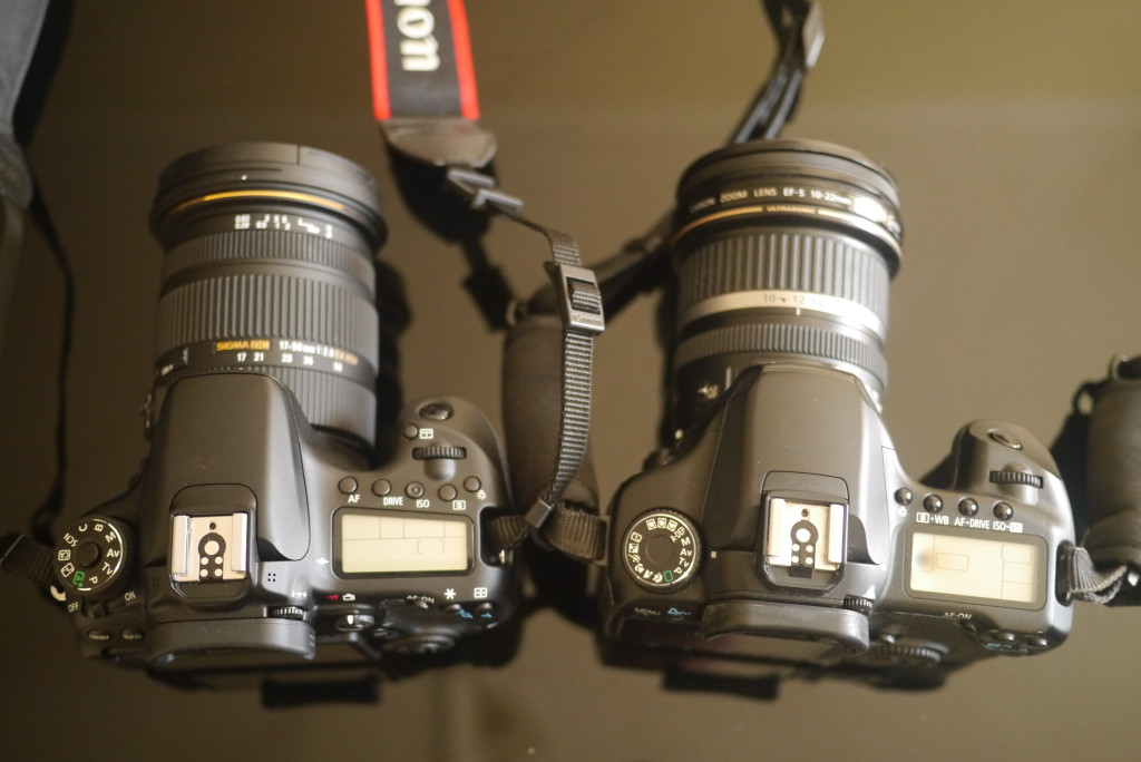 Canon 40D and 70D